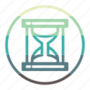 hourglass, time, watch, timer, schedule icon