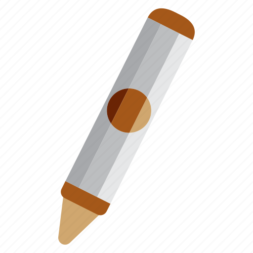 crayon, education, learning, school, study icon