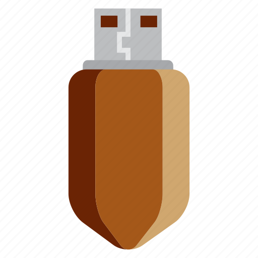 education, flash disk, learning, pendrive, school, study icon
