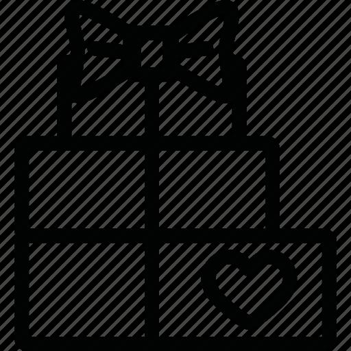 birthday, cake, celebration, gift, giftbox, party icon