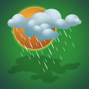 day, drizzle, forecast, weather icon