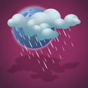 drizzle, forecast, night, weather icon