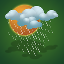 drizzle, forecast, heavy drizzle, weather icon