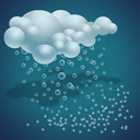 clouds, forecast, sleet, weather icon