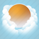 day, fog, forecast, weather icon