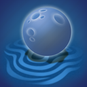 forecast, moon, night, sand, weather icon