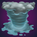 cyclone, forecast, hurricane, rain, tropical, weather icon