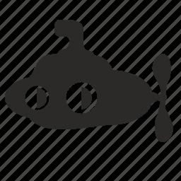 compact, discovery, mashine, submarine icon
