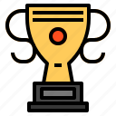 achievement, trophy icon
