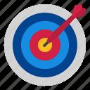 darts, target icon