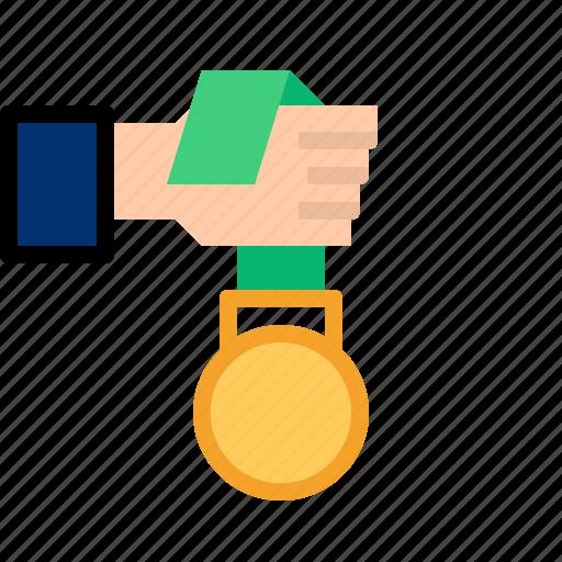 achievement, award, medal icon
