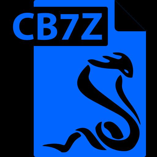 cb7z, comic book, file, format, sumatrapdf icon