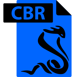 cbr, comic book, file, format, sumatrapdf icon