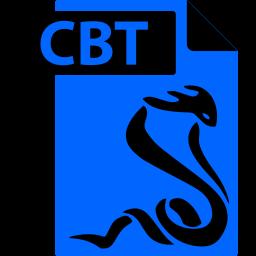 cbt, comic book, file, format, sumatrapdf icon