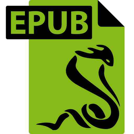 ebook, epub, file, format, sumatrapdf icon