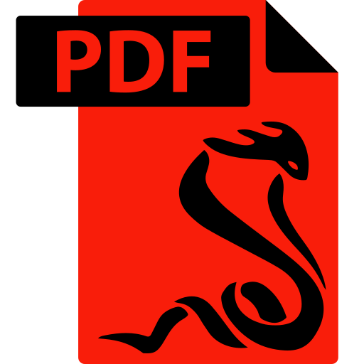 ebook, extension, file, format, pdf, sumatrapdf icon