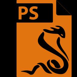 file, format, postscript, ps, sumatrapdf icon