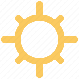 bright day, hot day, morning, sun, sunny day, sunshine icon