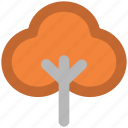 deciduous tree, ecology, forest, generic tree, leafy tree, nature, tree icon