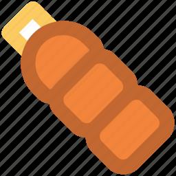 bottle, drink, juice, liquid, milk bottle, water bottle, water container icon