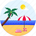 beach, ocean, palm, summer, surfing, vacation