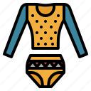 clothes, fashion, suit, swimming, swimsuit, vinttage icon
