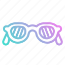 accessory, fashion, glasses, protection, summer, sunglasses icon