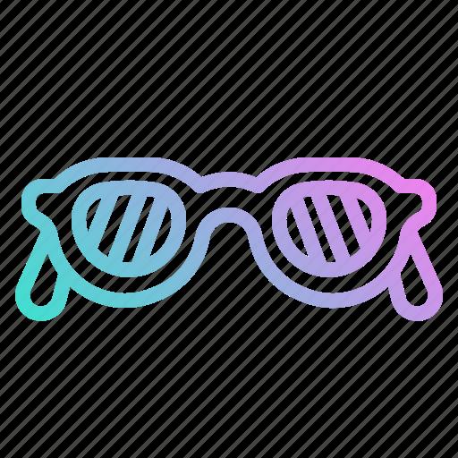 accessory, fashion, glasses, protection, summer, sunglasses icon