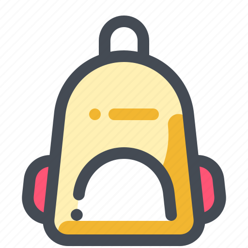 backpack, hiking, summer, travel, vacation, voyage icon