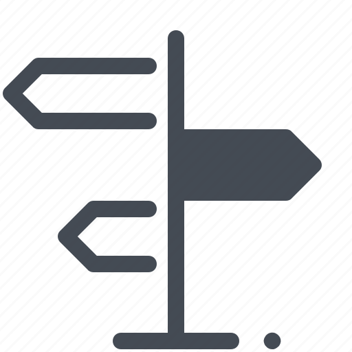 direction, gps, map, pin, pointer, road, way icon