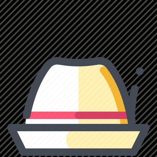 hat, headdress, straw hat icon