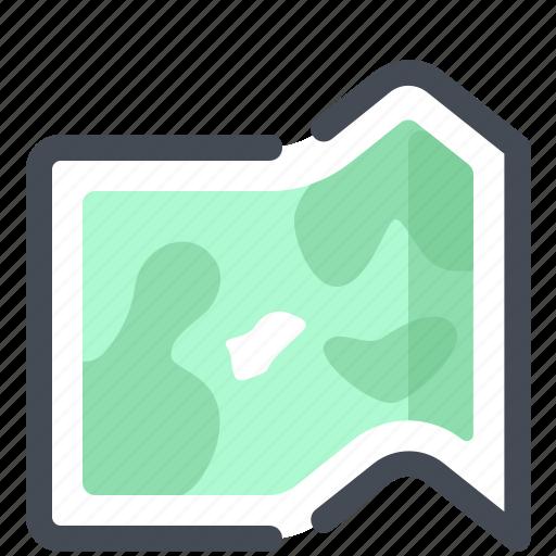 direction, location, map, navigation, safari, summer, travel icon