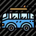 camper, holidays, travel, van