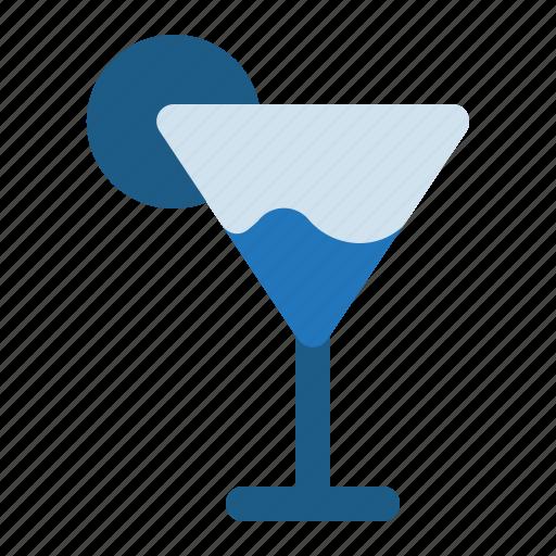 cocktail, drink, lemon, summer icon