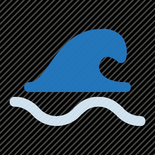 ocean, sea, summer, wave icon
