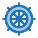 rudder, sailor, ship, summer, wheel