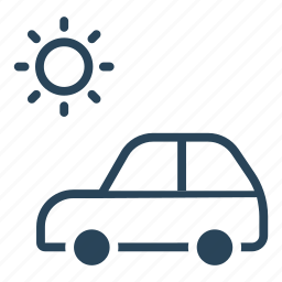 auto, holiday, summer, travel, vacation trip, vehicle icon