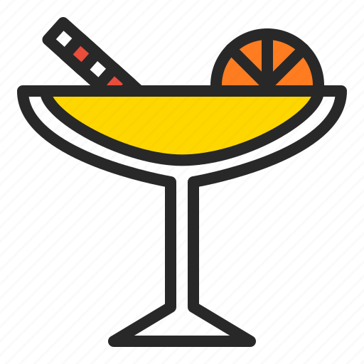 alcohol, cocktail, drink, glass, juice, summer icon