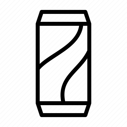 can, drink, soda icon