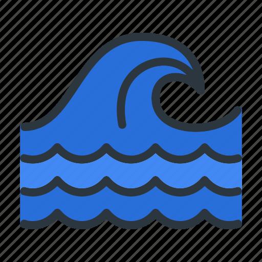 Ocean, sea, wave icon - Download on Iconfinder on Iconfinder