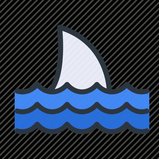 animal, ocean, sea, shark icon