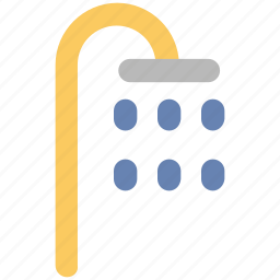 bath, bath sprinkler, bathroom, body care, shower, shower head, water drops icon