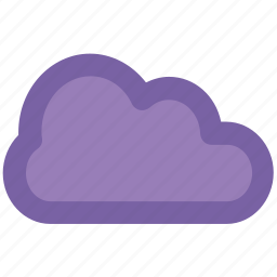 cloud, clouded, forecast, puffy cloud, sky, weather icon