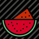 beach, fruit, summer, sweet, watermelon