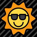 beach, summer, sun, sunlight, weather