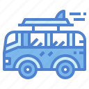 camper, holidays, travel, van icon