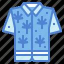 clothing, fashion, garment, hawaiian, shirt icon