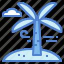 landscape, palm, summertime, tree, trip