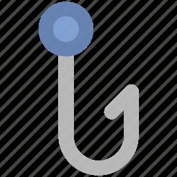 fish catching, fishing, fishing hook, fishing rod, hobby, leisure activity icon