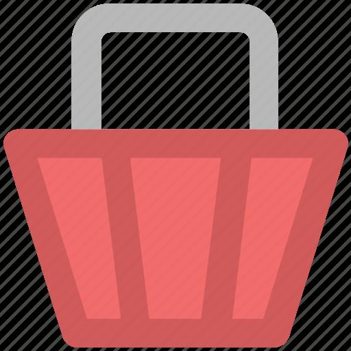basket, food basket, hamper basket, hotel basket, shopping basket icon